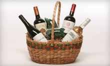 $69 for a Favorite Four International-Wine Gift Basket from Wine Legend ($139.99 Value)