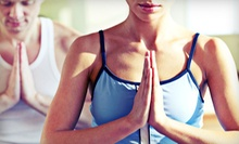 One Month of Unlimited Classes or 10 Yoga Classes at Bliss Yoga and Wellness (Up to 74% Off)