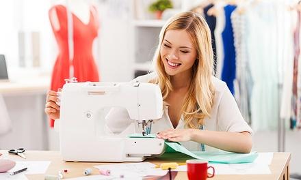 Workshop de iniciação à costura para uma ou duas pessoas desde 19,90€ na Casa de Costura de Alvalade (desconto até 75%)