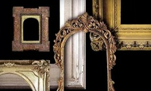 $45 for $110 Worth of Framing Services at The Antique and Vintage Frame Gallery