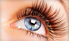 Full Set of Eyelash Extensions with Optional Fill at Rockstar Creation (Up to 81% Off)