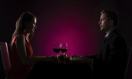 Dinner in the Dark Experience for Two at Catharsis Restaurant & Lounge (37% Off)