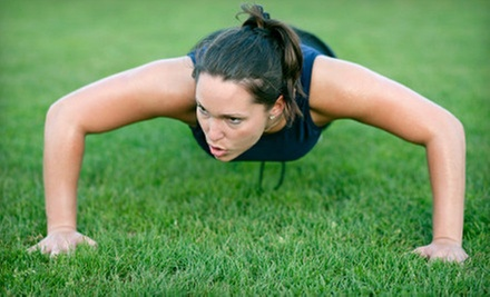 $45 for One Unlimited Month of Fitness Boot Camp at LiveFit Boot Camp (Up to $279 Value)