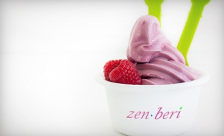 $12 for $25 Worth of Frozen Yogurt at Zen Beri