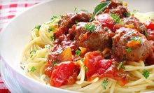Italian Cuisine for Dinner or Lunch at Italian Village (Half Off)