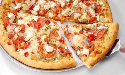 Family Pizza Meal, Pizza-and-Beer Meal, or Other Carryout Food at Flancer's (Up to 48% Off)