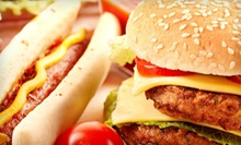 $5 for $10 Worth of Hot Dogs, Burgers, and Ice Cream at Dips & Dogs in Hinsdale