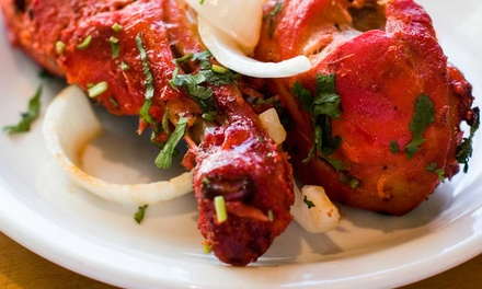$13 for $25 Worth of Indian Food for Two or More for Dinner at Curry Bistro