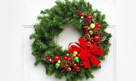 $65 for Wreath Making and Wine Tasting at Sound Excursions ($99 Value)