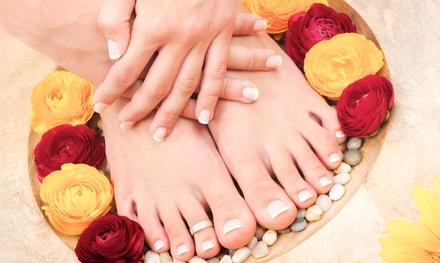 Mani-Pedi for One or Two at Pearl MediSpa (Up to 54% Off)