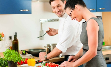 Three-Course Italian Cooking Class with Wine for Two or Four at Napoli Culinary Academy (Up to 92% Off)