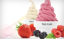 Frozen Yogurt at Tutti Frutti (Up to 55% Off). Two Options Available.