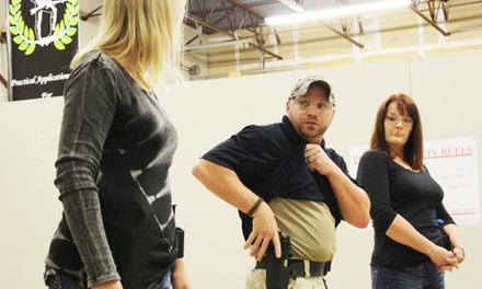 Concealed-Handgun-License Course for One or Two at Patriot Protection (Up to 63% Off)