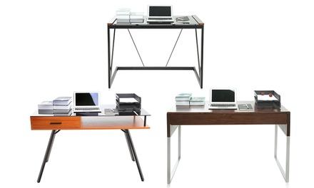 Secretária para escritório disponível em cinco modelos diferentes desde 99,99€