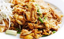 $10 for $20 Worth of Asian Food and Drinks at Jinx Kitchen + Lounge