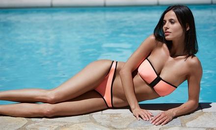 Neoprene Strapless Bikinis