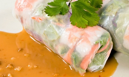 $10 for $20 Worth of Thai Food and Drinks at Thai Specialty