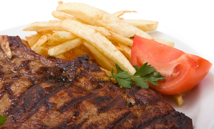 $55.50  for a Kosher Dinner for Two at Mendy's Restaurant (Up to $115.85  Value)