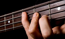 Four or Six Weekly One-Hour Guitar Lessons with Guitar Rental at The Music Shop (Up to 60% Off)