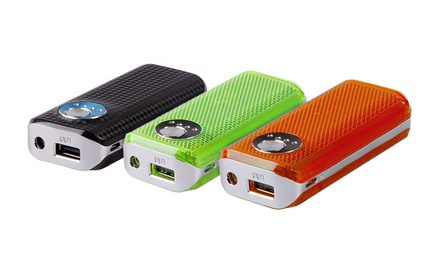 Maze Exclusive 4,400mAh Power Bank with Built-In LED Light and Flashlight