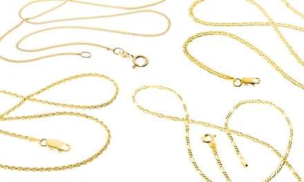 Italian Chain Necklaces for Men and Women from $19.99–$29.99