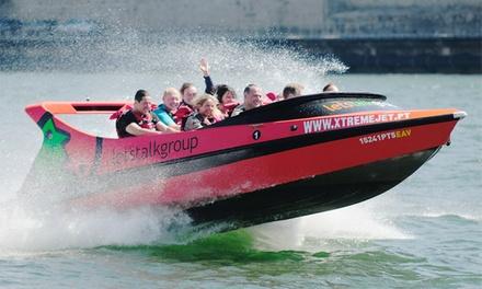 Xtreme Jet Boat — rio Douro: experiência de safari em barco haka para duas ou quatro pessoas desde 34,90€