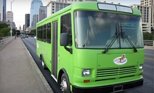 Party Bus and Tubing for One or Two from Capitol City Crawler (Up to 57% Off). Three Options Available.