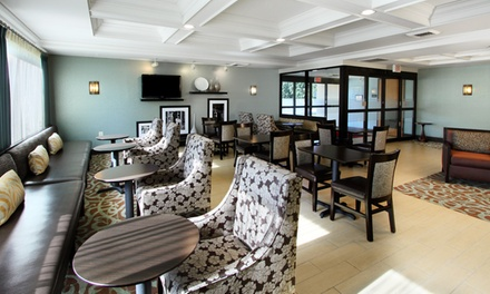 groupon daily deal - Stay for Up to Four at Hampton Inn Plymouth Meeting Near Philadelphia, with Dates Available into June