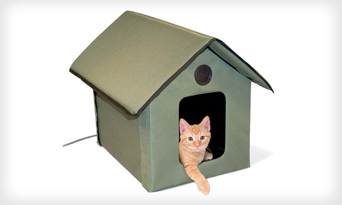 69 for a K&H Heated Cat House ($118.74 List Price). Free Shipping and ...