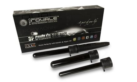 Royale Pro 3-in-1 Tourmaline Ceramic Curler Sets
