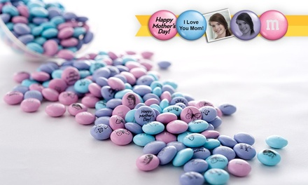groupon daily deal - $15 for $30 Worth of Personalized M&M'S from Mymms.com