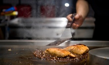 Hibachi Dinner for Two, Four, or Six with Wine at Yume Hibachi Steak &amp; Sushi (Up to Half Off)