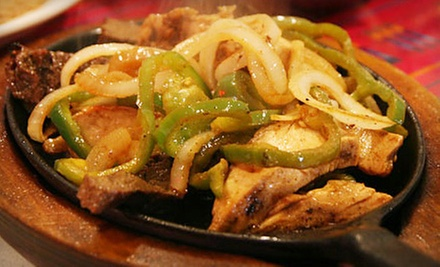 Mexican Dinner Cuisine at Miguelito&#x27;s Mexican Restaurant (Half Off). Two Options Available.