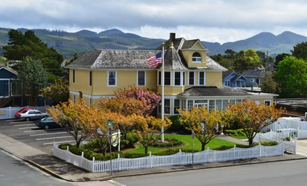 2-Night Stay for Two in a Deluxe or Queen Room with a Romance Package The Gilbert Inn in Seaside, OR