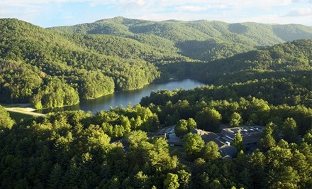groupon daily deal - Stay at Unicoi State Park Lodge and Conference Center in Helen, GA. Dates Available into June.