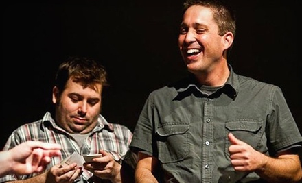 $12 for Two to See the Anti-Cooperation League Perform at Sacramento Comedy Spot on Saturday at 9 p.m. ($24 Value)