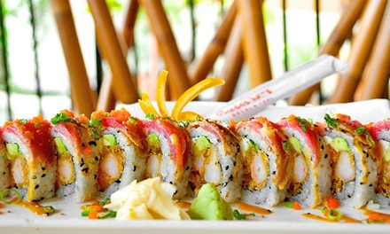 Upscale Thai Cuisine and Sushi at Asia Bay (45% Off). Two Options Available.
