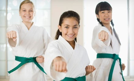 Karate Course for One or Two with Orientation, Eight Classes, and Uniform at Okamoto's Karate (Up to 78% Off)