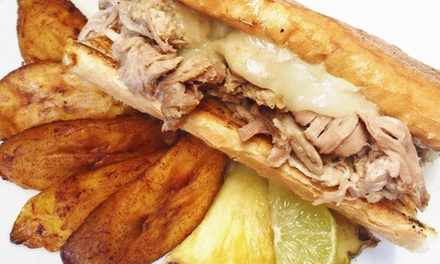 Portland: Cuban Lunch or Dinner for Two with Cocktails at El Cubo de Cuba (Up to 42% Off)