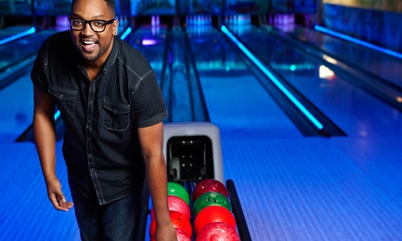Bowling, Laser Tag, or Both at ThunderZone (Up to 88% Off). Eight Options Available.
