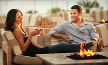$20 for $40 Worth of Contemporary American Fare and Drinks at Deco Blue Restaurant & Bar in Miami Beach