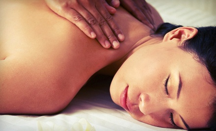 One or Three Swedish Massages or One or Three Deep-Tissue Massages at Heaven's Touch Massage Therapy (Up to 65% Off)