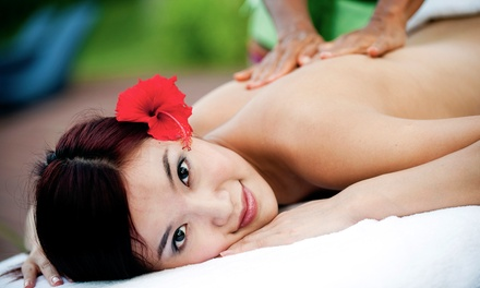 One or Two Groupons, Each Good for a One-Hour Swedish or Hawaiian Massage at Huna Mua Wellness Center (Up to 57% Off)