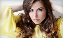Haircut and Style with Deep-Conditioning Treatment or Partial Dimensional Color at Mood Salon (Up to 59% Off)