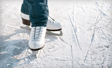 Ice-Skating with Skate Rental for Two or Four or One or Four Ice-Skating Lessons at Newington Arena (Up to 54% Off)