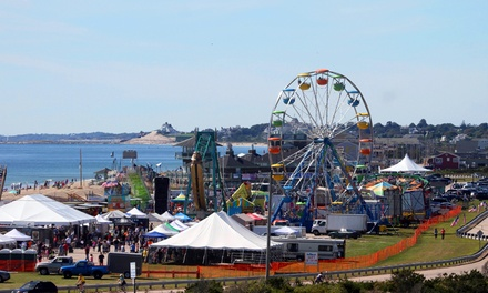 Fall Fest Admission for Two, Four, or Six from The Misquamicut Business Association (Up to 48% Off)