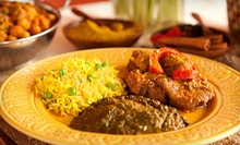 $10 for $20 Worth of Indian Cuisine at Mayura Indian Restaurant