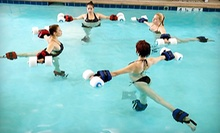 3, 8, or 15 Aquatic Yoga Classes at H2yOga (Up to 61% Off)