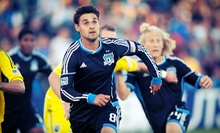 San Jose Earthquakes Soccer Game On May 8 at Buck Shaw Stadium (51% Off). Two Seating Options Available.