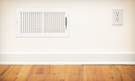 Air-Duct Cleaning for 10 Vents with or without Cleaning for Dryer Vent from A1 Steamers Carpet Cleaning (Up to 73% Off)